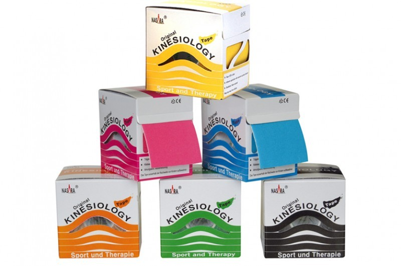 Pack 12 rollos Nasara Original Kinesiology Tape